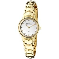 Skagen Women's Goldtone Ion-Plated Stainless Steel Watch