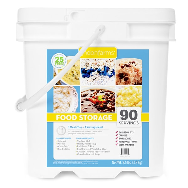 Lindon Farms 90 Serving Food Storage Kit