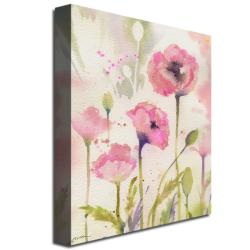 Sheila Golden 'Oriental Poppy Garden' Canvas Art