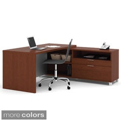 Bestar Pro-Linea L-shaped Workstation