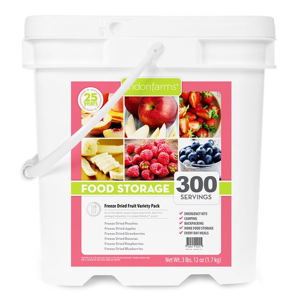 Lindon Farms Freeze Dried Fruits (300 Servings)