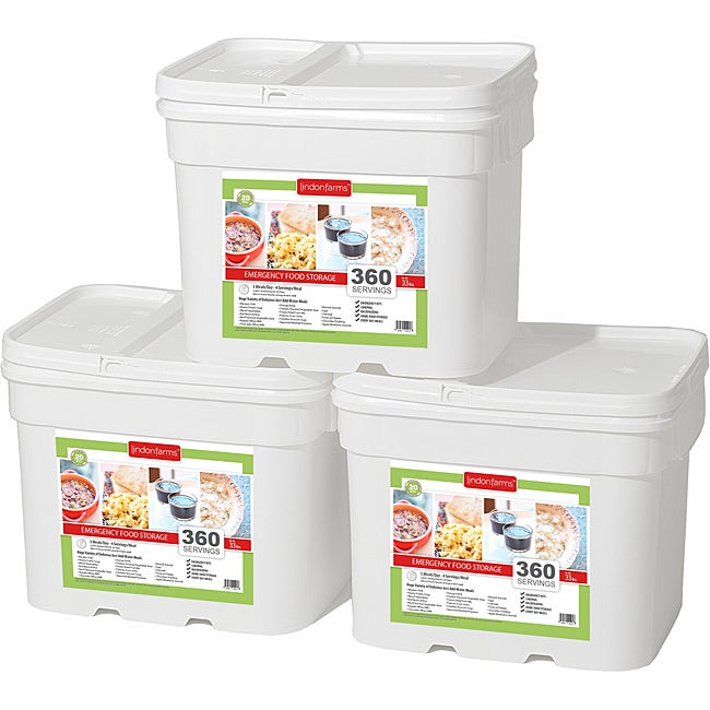 Lindon Farms Long Term Food Storage Kit (1080 Servings)