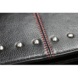 Zeyner Hellraiser Leather Flapover 17-inch Laptop Briefcase