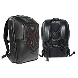 Zeyner Backfire Leather Laptop Backpack