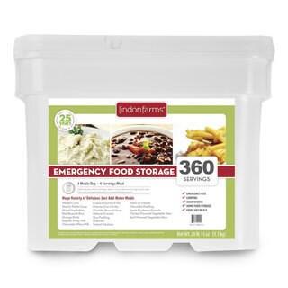 Lindon Farms 360 Serving Food Storage Kit