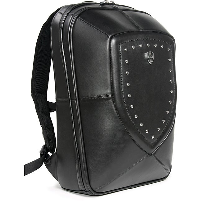 Zeyner Backlash Leather Laptop Backpack