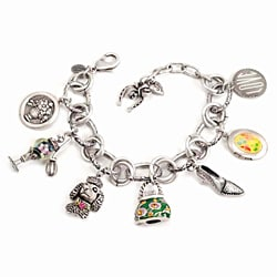 Sweet Romance Girly Things Retro Charm Bracelet