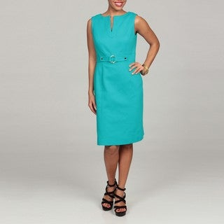 Tahari Women's Pique Sheath Dress FINAL SALE