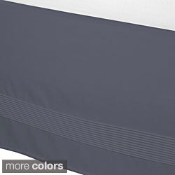 Solid 15-inch Drop Pintuck Bedskirt