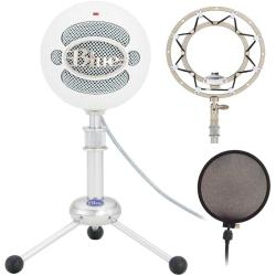 Blue Microphones Snowball Plug-and-Play USB Microphone with Accessory Kit