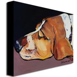 Pat Saunders-White 'Farley' Canvas Art