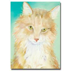 Pat Saunders-White 'Willard' Canvas Art