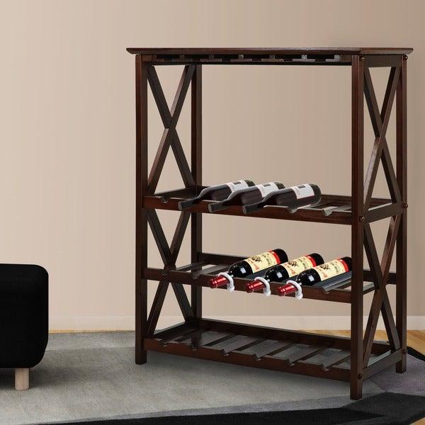 Montego X 18 Bottle Wine Rack