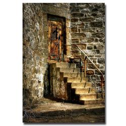 Lois Bryan 'The Locked Door' Canvas Art (32
