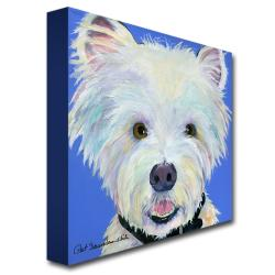 Pat Saunders-White 'Amos' Canvas Art