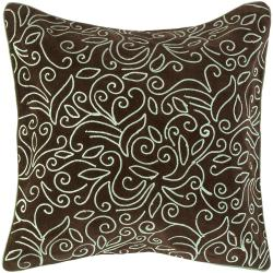 Genk Brown/ Blue Decorative Pillow