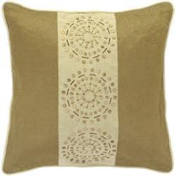 Mons Khaki/ Tan Decorative Pillow