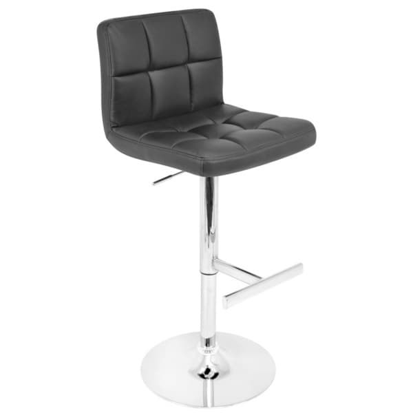 Lager Black Modern Bar Stool Cafe Chair Chairs Furniture Home Kitchen