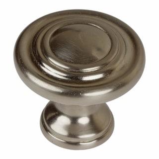 GlideRite1.25-inch Satin Nickel Classic 3-Ring Round Cabinet Knobs (Case of 25)