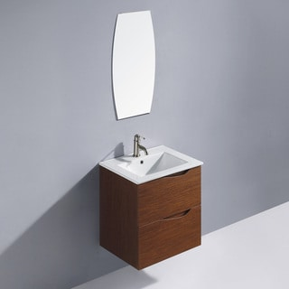 Vigo 24-inch Suzetta single Bathroom Vanity with Mirror