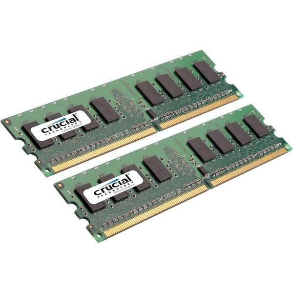 Crucial CT2KIT25672AA80E 4GB DDR2 SDRAM Memory Module