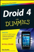 Droid 4 For Dummies (Paperback)