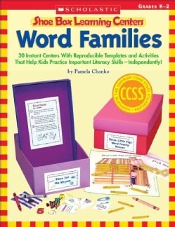 Word Families: Grades K-2: 30 Instant Centers With Reproducible Templates and Activities That Help Kids Practice ... (Paperback)