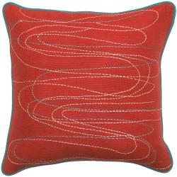 Decorative 18-inch Swirl Pillow