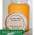Southern Made Candles Orange 26-oz Apothecary Soy Candle