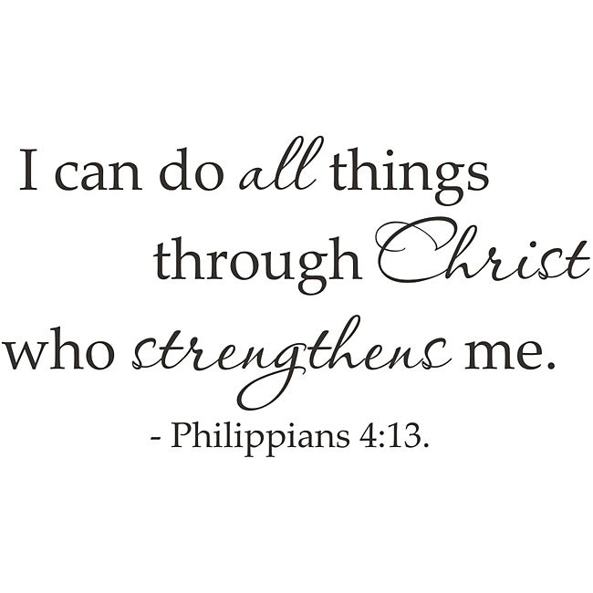 I Can Do All Things Through Christ Who Strengthens Me Wallpaper Sports Download