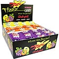 Zotz Candy Assorted Lemon, Orange, Grape Box of Candy (48-pieces)