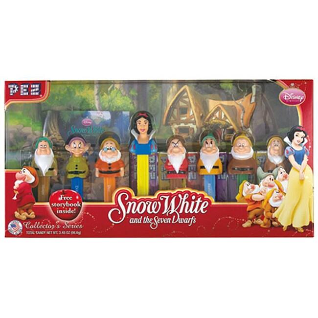 Pez Collector's Disney's Snow White Dispenser Set