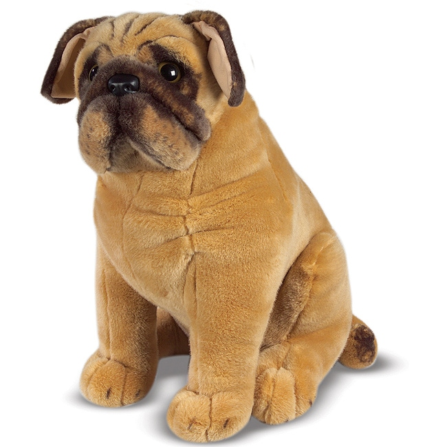 Melissa & Doug Plush Pug Stuffed Animal