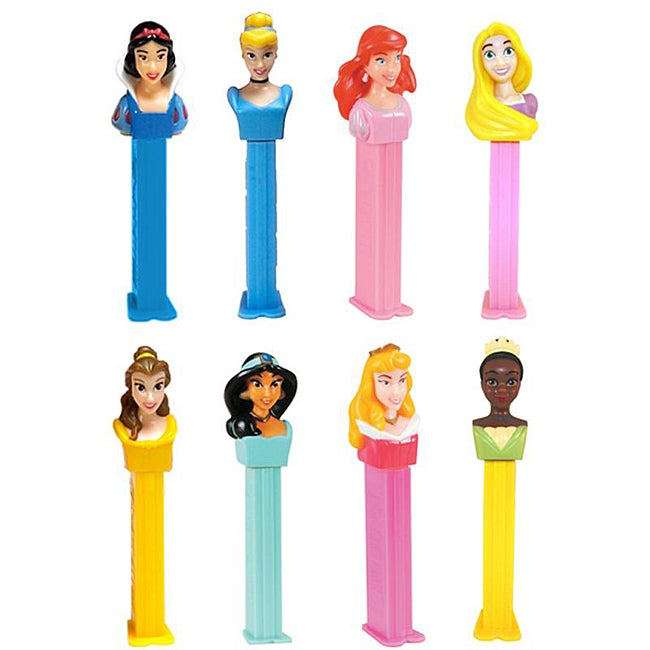 Pez Disney Princesses Toy Candy Dispensers (Pack of 12)
