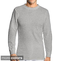 Hanes Men's Big & Tall Cotton Thermal Crewneck Top