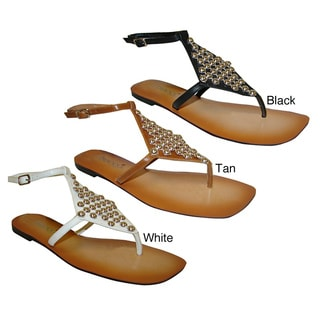 Bucco Women's Studded Sandals