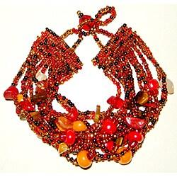 Luzy 'Autumn' Gemstone Bracelet (Guatemala)
