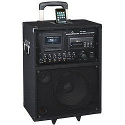 Wireless 100-watt iPod Amplifier and PA System