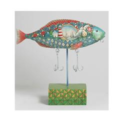 Jim Shore Rainbow Trout Figurine