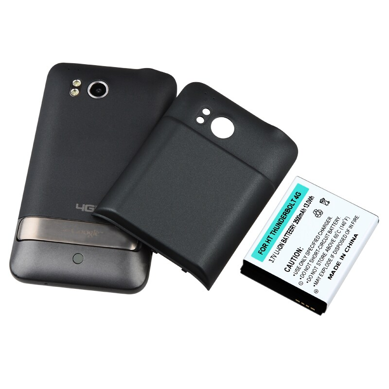 INSTEN Compatible Extended Li-ion Battery with Cover for HTC Thunderbolt 4G