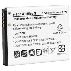 Compatible Li-ion Battery for HTC Wildfire S
