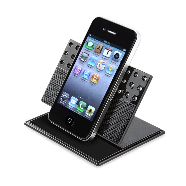 INSTEN Universal Car Dashboard Swivel Phone Holder for Apple iPhone 4S/ 5S/ 6