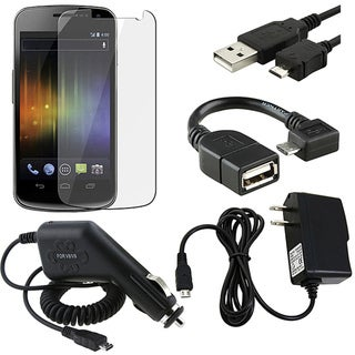 LCD Protector/ Chargers/ Adapter/ Cable for Samsung Nexus i9250