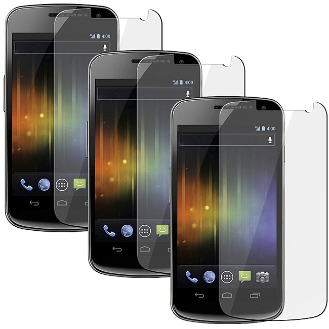 INSTEN Clear Screen Protector for Samsung Galaxy Nexus i9250 (Pack of 3)