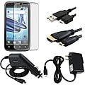 LCD Protector/ Chargers/ USB/ HDMI Cable for Motorola Atrix 2 MB865