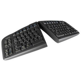 Goldtouch USB V2 Keyboard Black For PC and Mac By Ergoguys