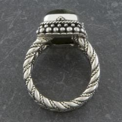 Sterling Silver Serpentine 'Cawi' Ring (Indonesia)
