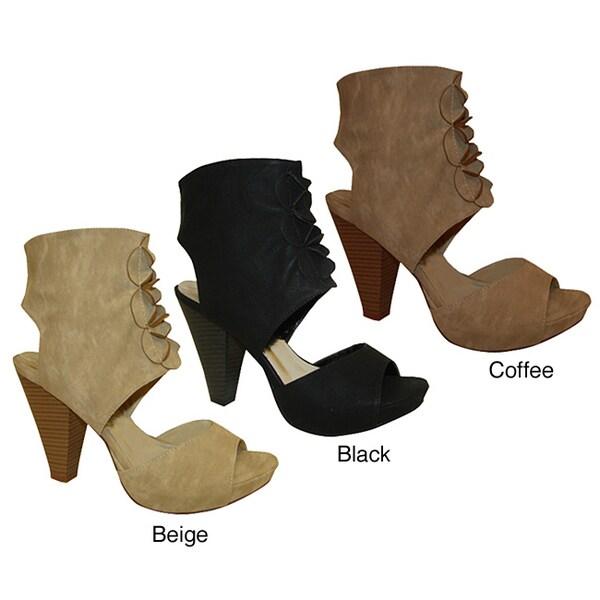 Bucco Women's Cuff High Heels