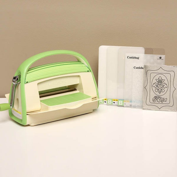 Provo Craft Cuttlebug V2 Embossing & Die Cutting Machine with Bonus Damask Die