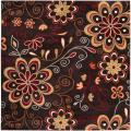 Hand-tufted Bishopbriggs Wool Rug (9'9 Square)